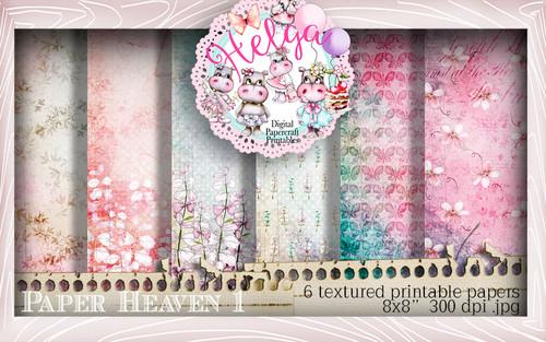 Helga Hippo Paper Heaven 1 download bundle