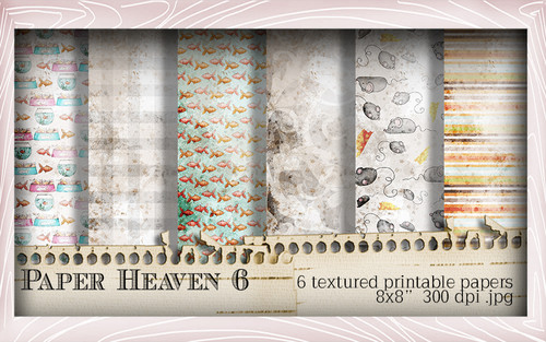 Paper Heaven 6 - Horace & Boo download printable bundle