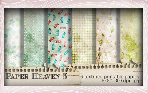 Paper Heaven 5 - Horace & Boo download printable bundle
