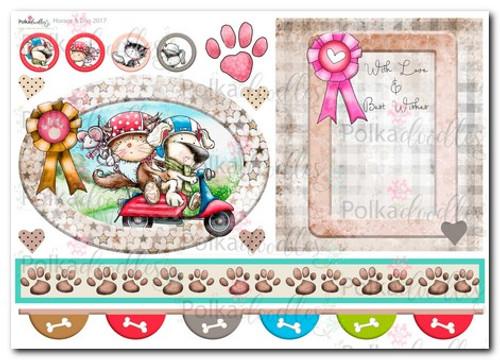 Horace & Boo Design Sheet 5- download printable