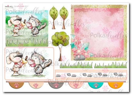 Horace & Boo Design Sheet 10- download printable