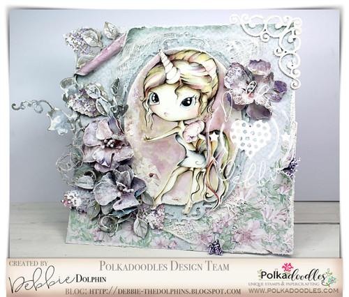 Ula Be a Unicorn- Life Journal craft digi download