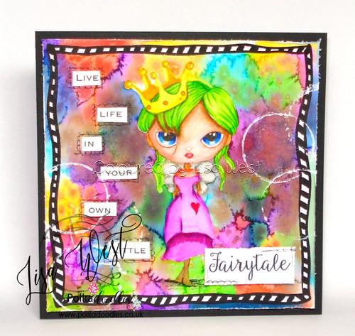 Ula be a Princess - Life Journal craft digi download
