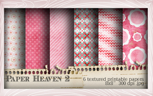 Paper Heaven 2 Winnie Special Moments...Craft printable download digital stamps/digi scrap kit