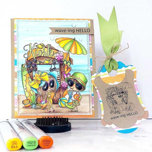Sunshine time  - Winnie Special Moments craft digi download