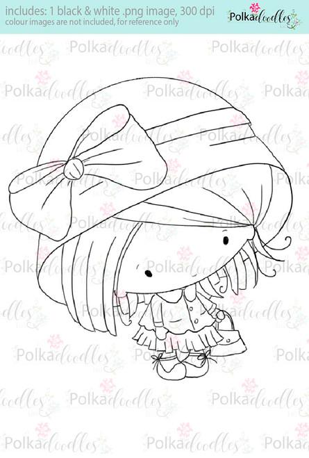 Lil Miss Pretty thing - Sugarpops Kit 1...Craft printable download digital stamps/digi scrap kit