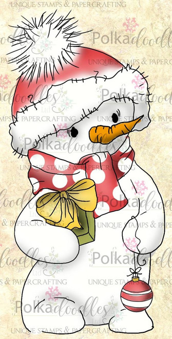 Christmas Frosty the Snowman -  Clear Stamp Set