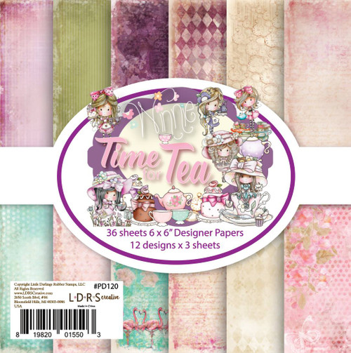 "Winnie Time for Tea - 6 x 6"" paper pack by LDRS"
