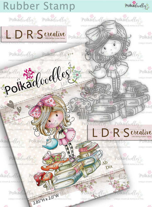Winnie Time for Tea Rubber Stamp - Time For Tea by LDRS