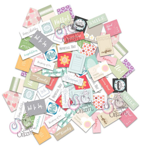 Sentiment Topper grab bag by Stampin Unicorn