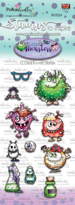 Little Monsters Stamp set - Funky