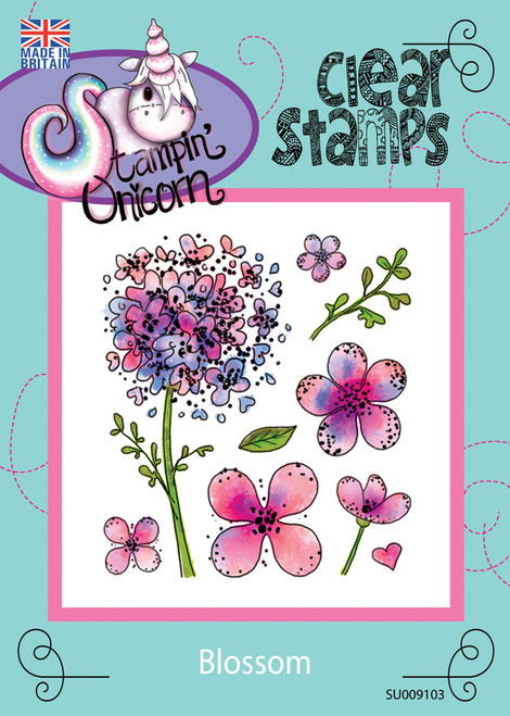 Blossom - Clear Stamp Set