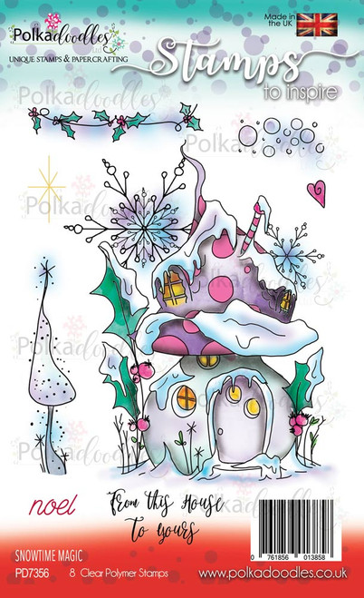 Snowtime Magic - Clear Polymer Stamp set