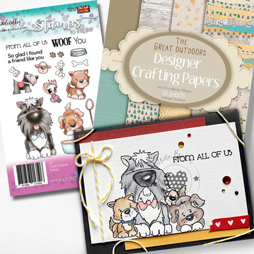 Woof You Dogs Clear Stamp set