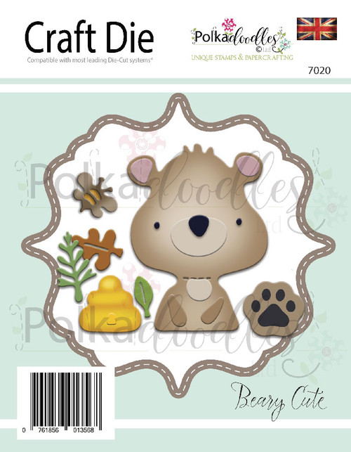 Beary Cute Great Outdoors Critter Die set