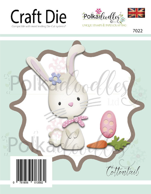 Cottontail Bunny Rabbit Great Outdoors Critter Die set