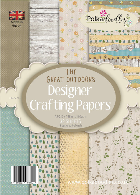 Great Outdoors A5 Paper Pack, 32 sheets