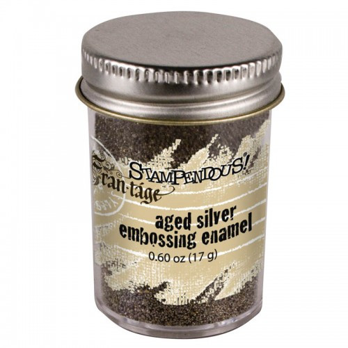 Frantage Aged Silver Embossing Enamel by Stampendous