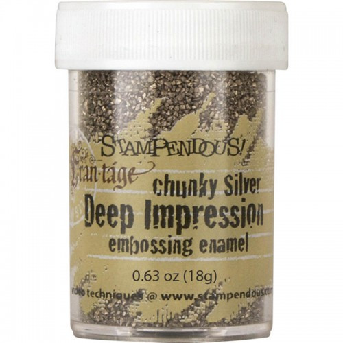 Frantage Chunky Silver Embossing Enamel by Stampendous