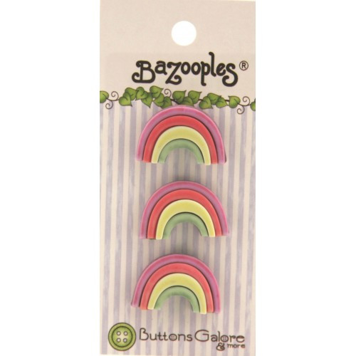 Rainbow/Unicorn themed button pack