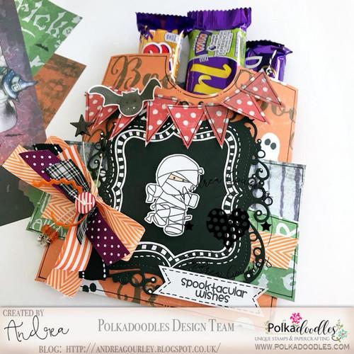 Spooktacular - Halloween clear stamp set