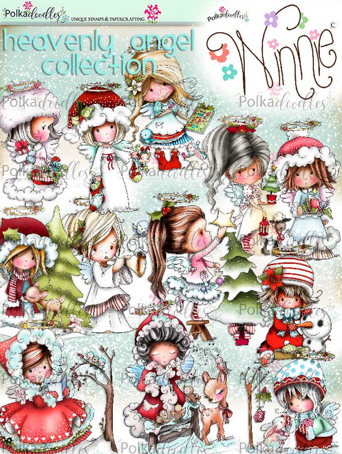 Big Kahuna Winnie Angel COLOURED IMAGES download bundle