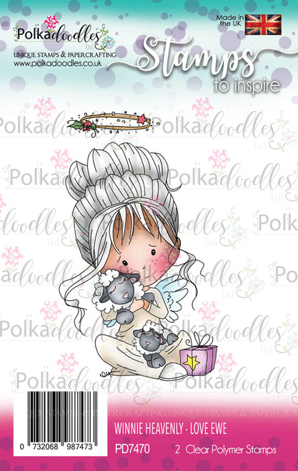 Love Ewe - Winnie Heavenly Clear Stamp set