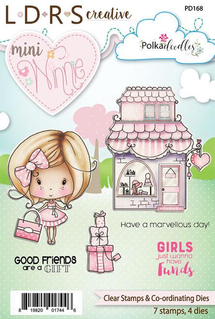 Mini Winnie Clear Stamps & Co-Ordinating Dies