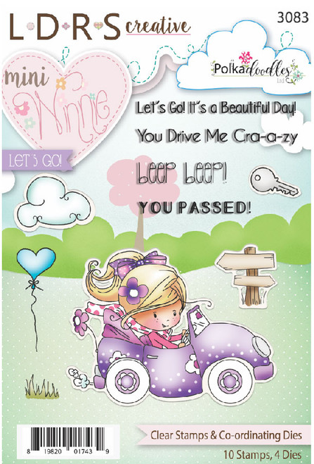 Mini Winnie Lets Go Clear Stamps & Co-Ordinating Dies