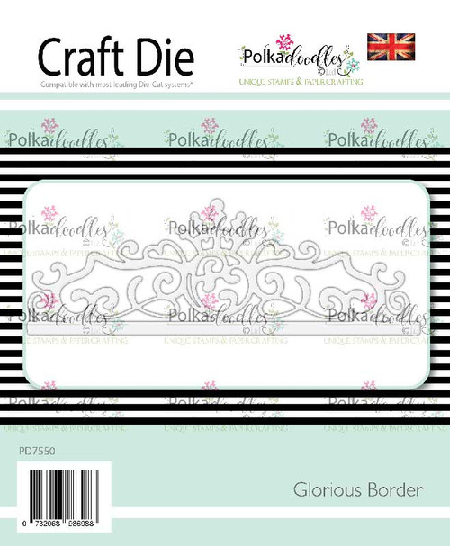 Glorious Border craft cutting die
