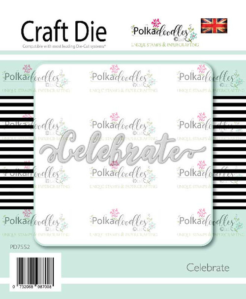 Celebrate sentiment craft cutting die