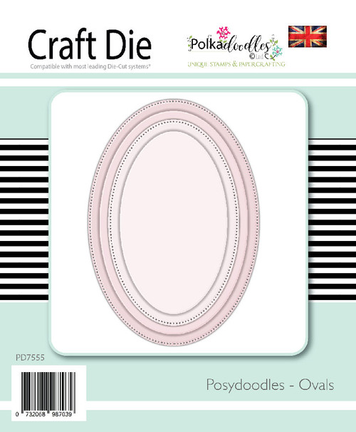 Posydoodles Basics - Ovals die