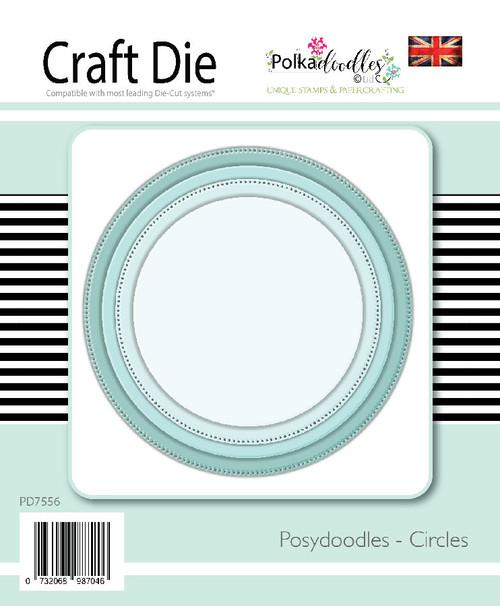 Posydoodles Basics - Circles dies