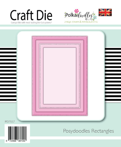Posydoodles Basics - Rectangles dies