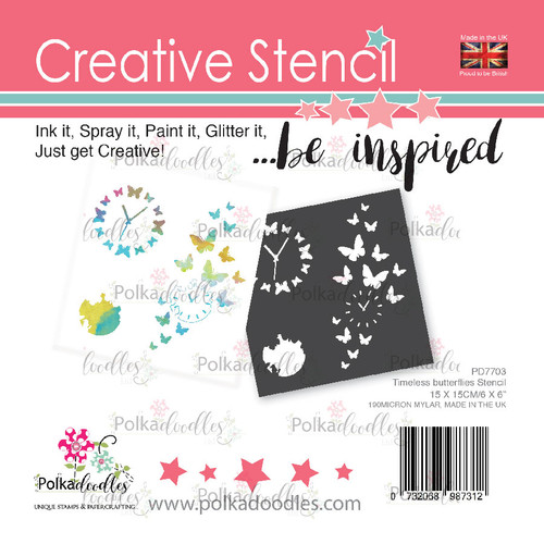 Timeless Butterflies creative craft stencil