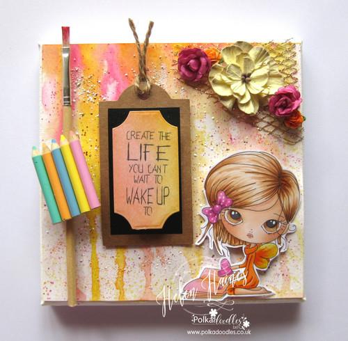 Ula Create - Clear Polymer Stamp set