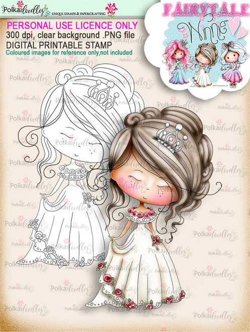Winnie Fairytale Dreamer digi stamp download
