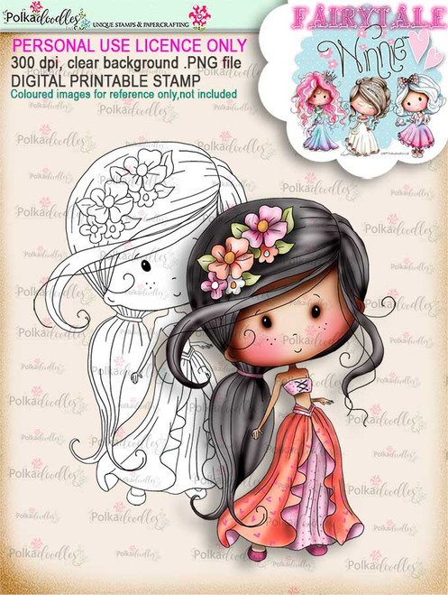Winnie Fairytale Faraway digi stamp download