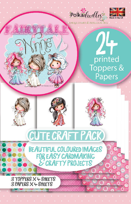 Winnie Fairytale Printed Topper pack 2 - 24 sheets