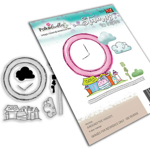 Round the Houses Stamp set