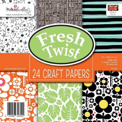 "Fresh Twist 6 x 6"" paper pack"