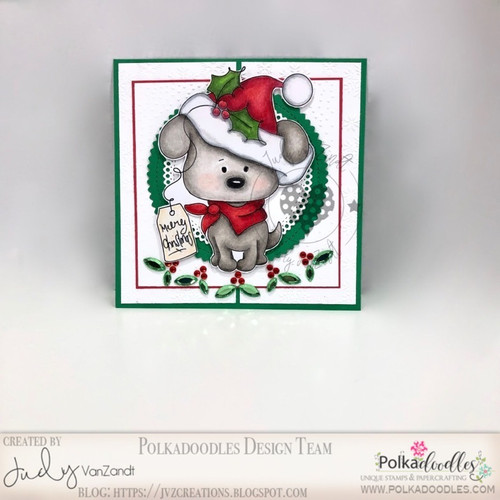 Lucky Present - Coloured - Too Cute digital papercrafting download