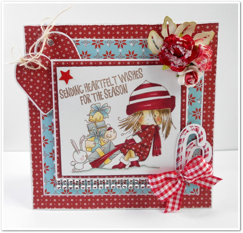 Heartfelt Wishes -  Winnie Winter Wishes - CLEAR POLYMER STAMP