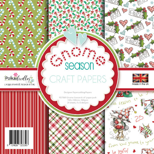 "Gnome Season 6 x 6"" Paper pack"