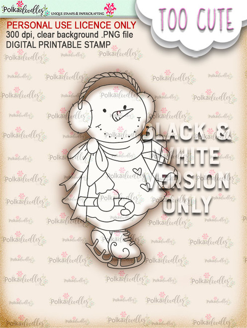 Frostella Shopping Haul  - Too Cute digital papercrafting download