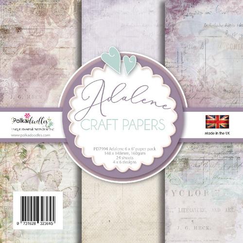 "Adalene 6 x 6"" Paper pack"