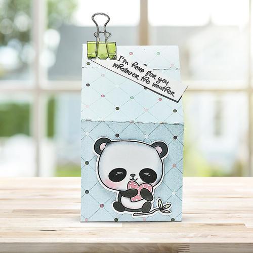 Too Cute Panda digital papercrafting download
