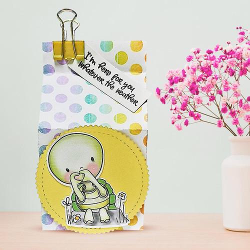 Too Cute Turtle Love digital papercrafting download