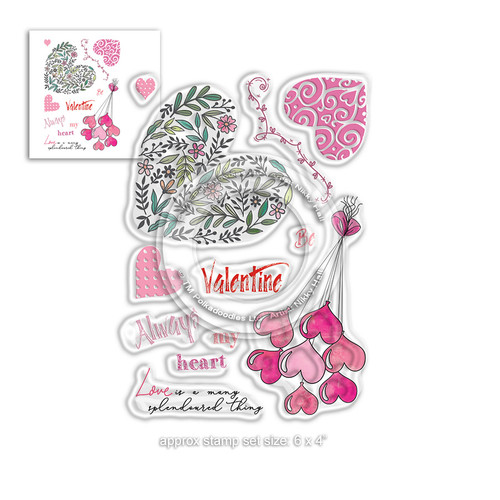 Splendoured Love Stamp set - Timeless Rose Collection