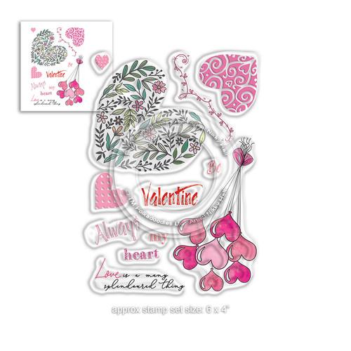 Splendoured Love Stamp set - Timeless Rose Collection